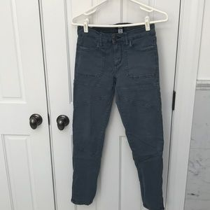 Urban outfitters size 26 blue pants w stitching